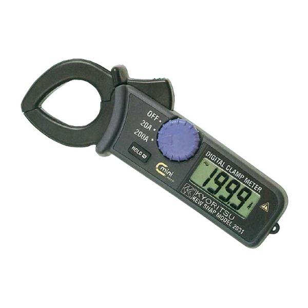【マラソンでポイント最大44倍】共立電気計器 キュースナップ・交流電流測定用クランプメータ 2031【代引不可】