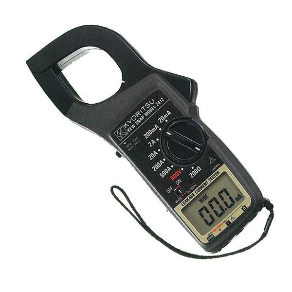 【マラソンでポイント最大44倍】共立電気計器 キュースナップ・漏れ電流・負荷電流測定用クランプメータ 2412【代引不可】