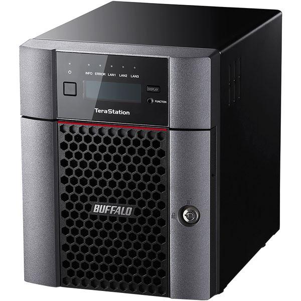 バッファロー TeraStation TS5410DNシリーズ 10GbE標準搭載 法人向け 4ドライブNAS16TB TS5410DN1604