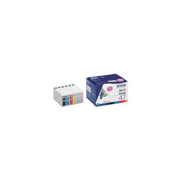 EPSON (純正インクカートリッジ 6色セット) IC6CL47