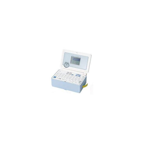 キングジム ラベルライター 「テプラPRO」 ペールブルー SR-GL1