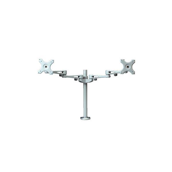 サンコー 8軸式スウィベルデュアルモニタアーム2 MARM7260Swv0Om8Nn