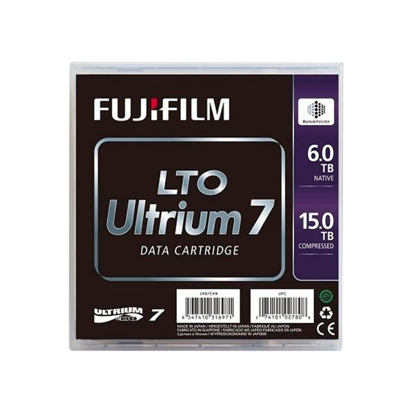 【スーパーセールでポイント最大44倍】富士フイルム(メディア) LTO Ultrium7 データカートリッジ 6.0TB LTO FB UL-7 6.0T J