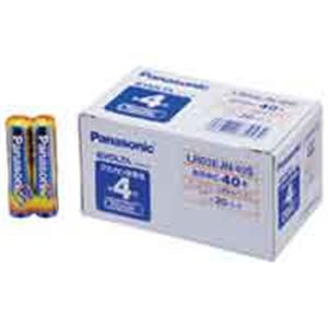 (業務用10セット) Panasonic(パナソニック) エボルタ乾電池 単4 40個 LR03EJN40S