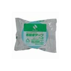 (業務用100セット) ニチバン カラー布テープ 102N-50 50mm*25m ライト青