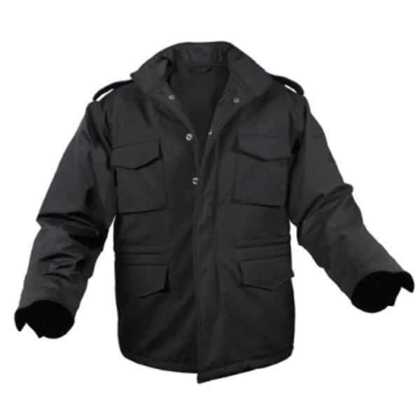 【スーパーセールでポイント最大43倍】ROTHCO(ロスコ) ソフトシェルタクティカル M65フィールドジャケット ROGT140980 ブラック S