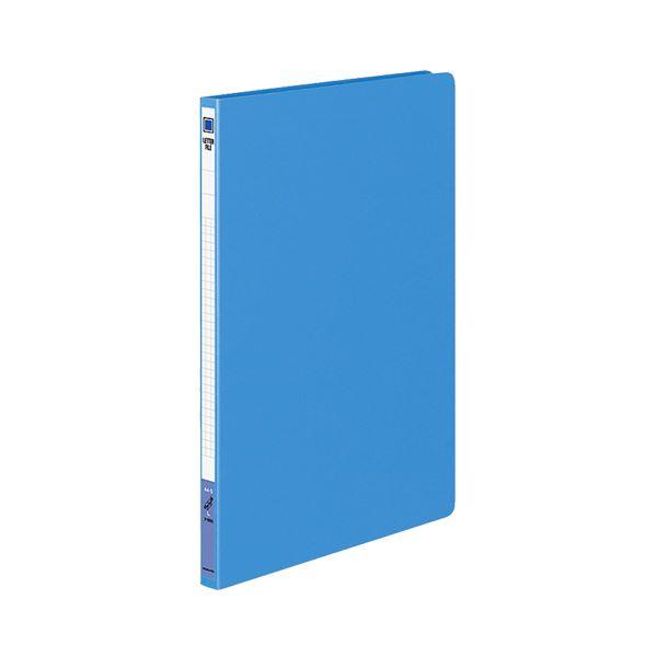 (まとめ) コクヨ レターファイル(色厚板紙) A4タテ 120枚収容 背幅20mm 青 フ-550B 1冊 【×20セット】