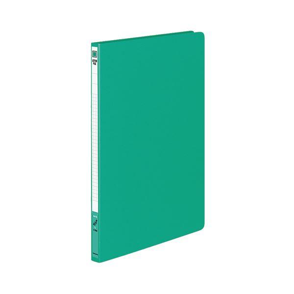 (まとめ) コクヨ レターファイル(色厚板紙) A4タテ 120枚収容 背幅20mm 緑 フ-550G 1冊 【×20セット】