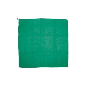 【マラソンでポイント最大43倍】(まとめ)アーテック カラースカーフ 700×700mm ポリエステル製 ループ付き グリーン(緑) 【×30セット】