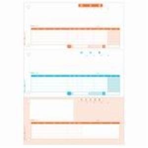 (業務用5セット) ヒサゴ 納品書 BP0104 A4/タテ3段 500枚