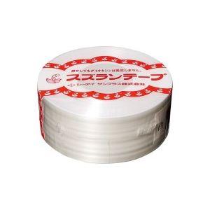 (業務用100セット) CIサンプラス スズランテープ/荷造りひも 【白/470m】 24201010