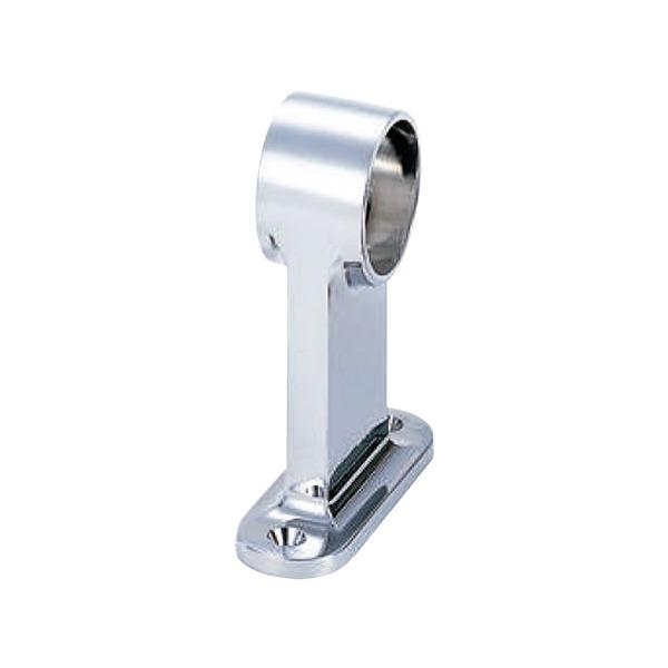 【20個入り】 F型首長ブラケット/パイプ取付け用金具 【高さ88.5mm/通 32mm】 水上金属