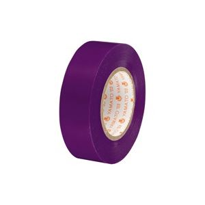 【スーパーセールでポイント最大44倍】(業務用300セット) ヤマト ビニールテープ/粘着テープ 【19mm×10m/紫】 NO200-19