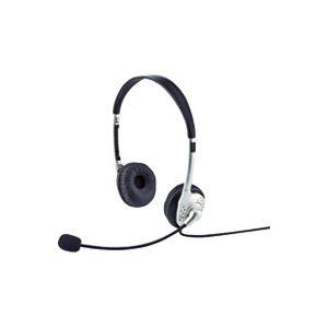 (業務用30セット) サンワサプライ タブレット用ヘッドセット MM-HS525TABN