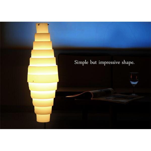 フロアライト(照明器具/スタンドライト) モダン/和風テイスト 〔リビング/ダイニング/寝室/玄関/和室照明〕【電球別売】【代引不可】