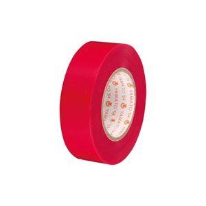(業務用300セット) ヤマト ビニールテープ/粘着テープ 【19mm×10m/赤】 NO200-19