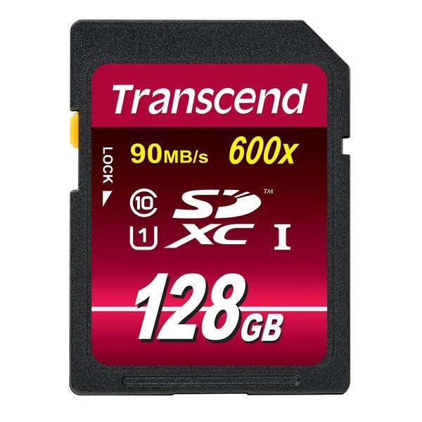 トランセンドジャパン SDXCカード TS128GSDXC10U1 【5個セット】