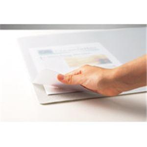 EMMA樹脂を使用したデスクマット 事務用品 まとめお得セット (業務用10セット) セントラル スカイマット再生エコ RNE-7W 625×910