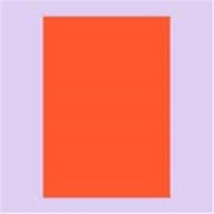 (業務用50セット) タカ印 蛍光ポスター 13-3184 A4 橙 10枚