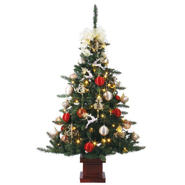 【スーパーセールでポイント最大43倍】クリスマスツリー 【ニーズ】 150cmサイズ 木製ポット付き 『セットツリー』 〔イベント パーティー〕