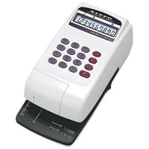 【スーパーセールでポイント最大44倍】(業務用2セット) ニッポー 電子チェックライター FX-45