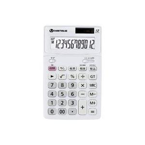 【マラソンでポイント最大43倍】(業務用40セット) ジョインテックス 中型電卓 ホワイト K071J