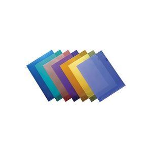 (業務用30セット) ジョインテックス Hカラークリアホルダー/クリアファイル 【A4】 100枚入り 紫 D610J-10VL ×30セット