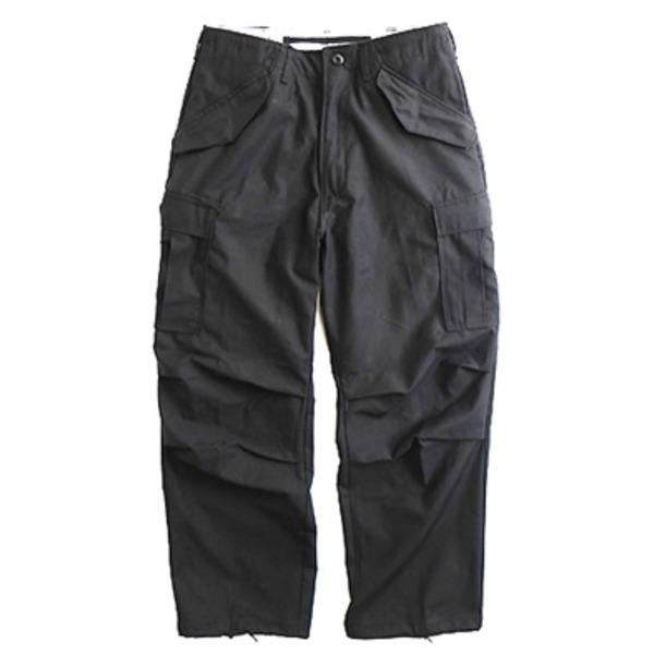 【スーパーセールでポイント最大44倍】USタイプ「 M-65」フィールドパンツ PP062YN ブラック メンズ Lサイズ 【 レプリカ 】