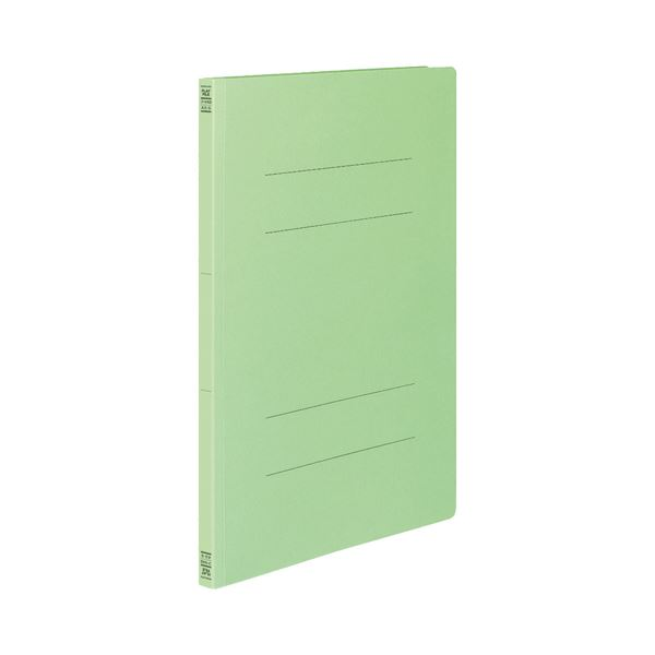 (まとめ) コクヨ フラットファイルV(樹脂製とじ具) A3タテ 150枚収容 背幅18mm 緑 フ-V43G 1パック(10冊) 【×3セット】