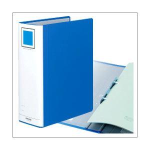 (業務用セット) コクヨ チューブファイル(エコツインR)(A4タテ・2穴)【ブルー】 とじ厚9.0cm・背幅10.5cm・収容枚数900枚 【×5セット】
