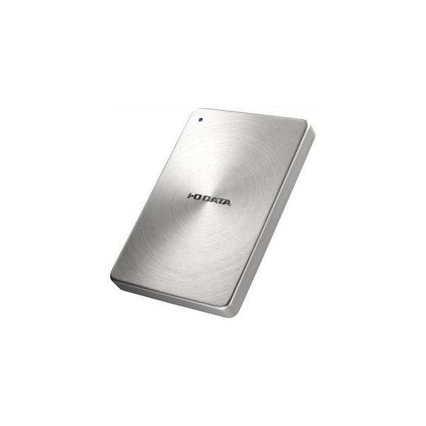 IOデータ USB 3.0/2.0対応 ポータブルハードディスク「カクうす」 1.0TB シルバー HDPX-UTA1.0S