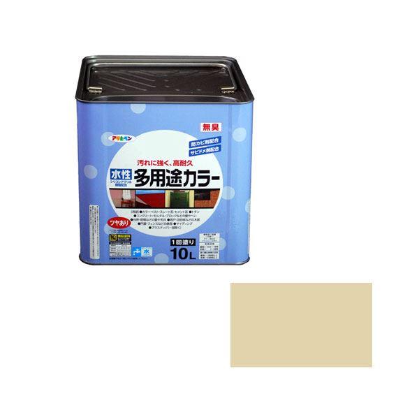 アサヒペン AP 水性多用途カラー 10L ティントベージュ