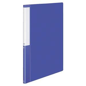 (まとめ) コクヨ クリヤーブック(クリアブック)(POSITY) 固定式 B4タテ 20ポケット 背幅15mm ブルー P3ラ-L24NB 1冊 【×10セット】
