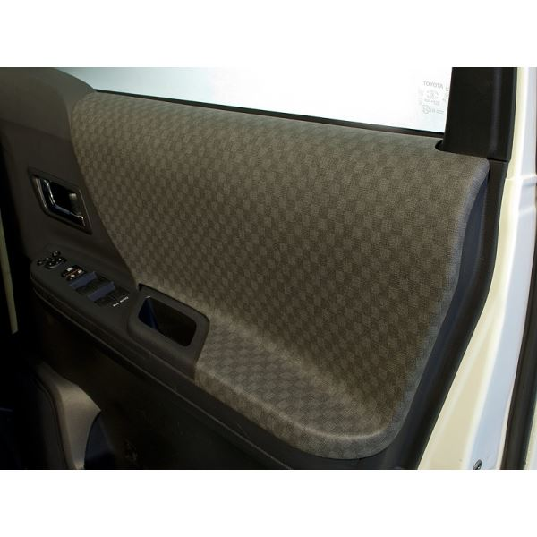 アルファード 20系 ドアパネル6点セット カラー:グレー シルクロード