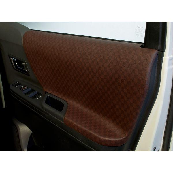 ヴェルファイア 20系 ドアパネル6点セット カラー:ブラウン シルクロード