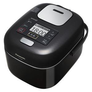 【マラソンでポイント最大43倍】パナソニック(家電) IHジャー炊飯器 1.0L (シャインブラック)