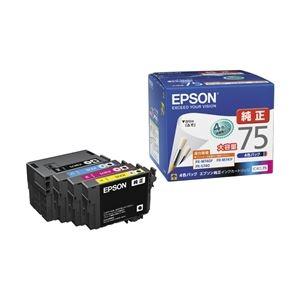エプソン ビジネスインクジェット用 大容量インクカートリッジ/4色パック