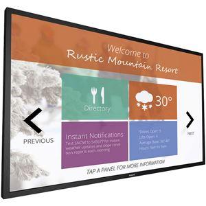 PHILIPS(ディスプレイ) 55型デジタルサイネージ用液晶ディスプレイ/タッチモデル/Android OS搭載