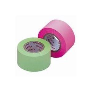 【スーパーセールでポイント最大44倍】(業務用100セット) ヤマト メモックロール替テープ蛍光 WR-25H-6B