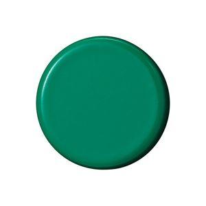 (業務用50セット) ジョインテックス 強力カラーマグネット 塗装25mm 緑 B273J-G 10個