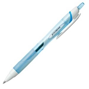 【マラソンでポイント最大43倍】(業務用200セット) 三菱鉛筆 油性ボールペン/ジェットストリーム 【0.7mm/水色】 ノック式 SXN15007.8