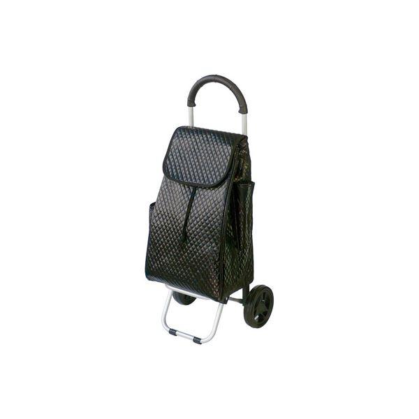 (業務用セット) RQショッピングカートC101 キルト黒 RQC-C101QD【×3セット】