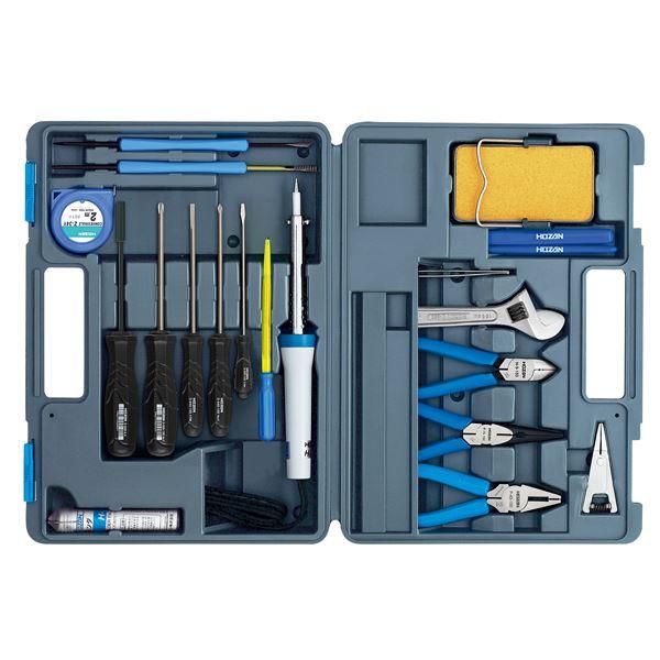 工具セット 【スーパーセールでポイント最大44倍】【ホーザン】工具セット S-22【工具 20点セット】