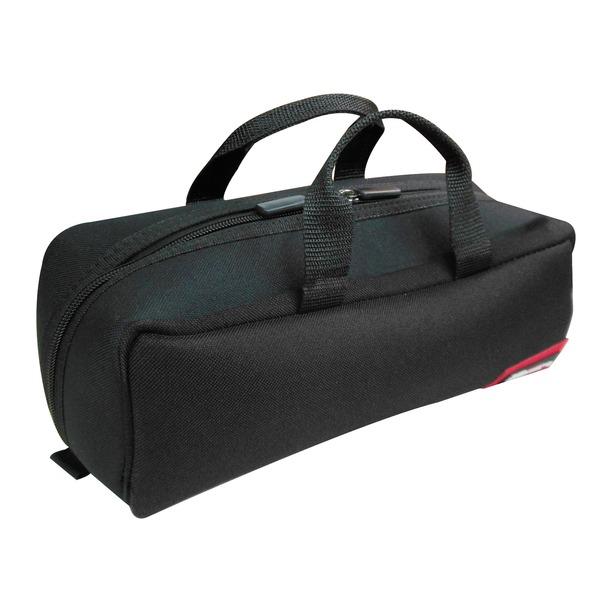 (業務用20セット)DBLTACT トレジャーボックス(作業バッグ/手提げ鞄) Sサイズ 自立型/軽量 DTQ-S-BK ブラック(黒) 〔収納用具〕