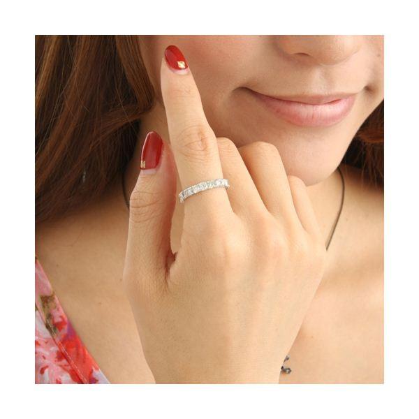 【スーパーセール割引商品】K18WG ダイヤリング 指輪 2ctエタニティリング 11号