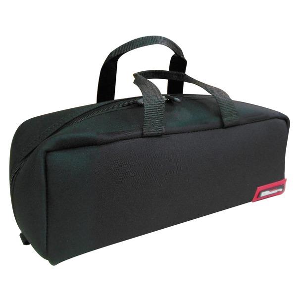 (業務用20セット)DBLTACT トレジャーボックス(作業バッグ/手提げ鞄) Mサイズ 自立型/軽量 DTQ-M-BK ブラック(黒) 〔収納用具〕