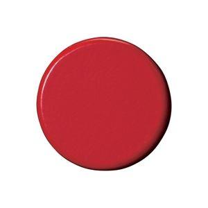 【スーパーセールでポイント最大44倍】(業務用50セット) ジョインテックス 強力カラーマグネット 塗装25mm 赤 B273J-R 10個