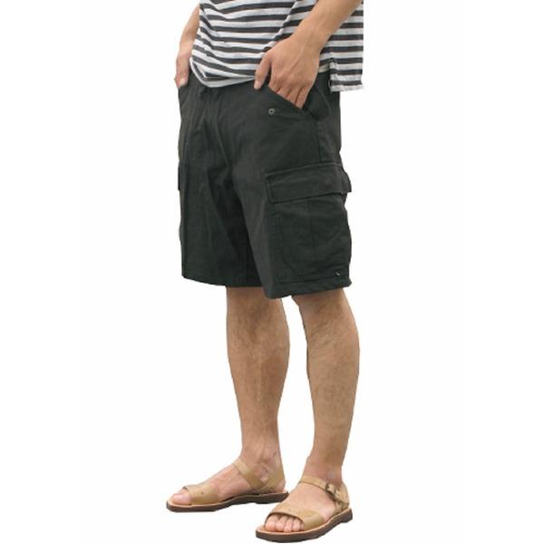 USタイプ「 M-65」フィールドショート丈パンツ ブラック メンズ Sサイズ 【 レプリカ 】