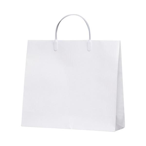 【スーパーセールでポイント最大44倍】(まとめ)今村紙工 白コーティングバック10枚KWCB-02【×30セット】