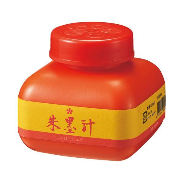 (まとめ)開明 朱墨汁 120mL【×50セット】